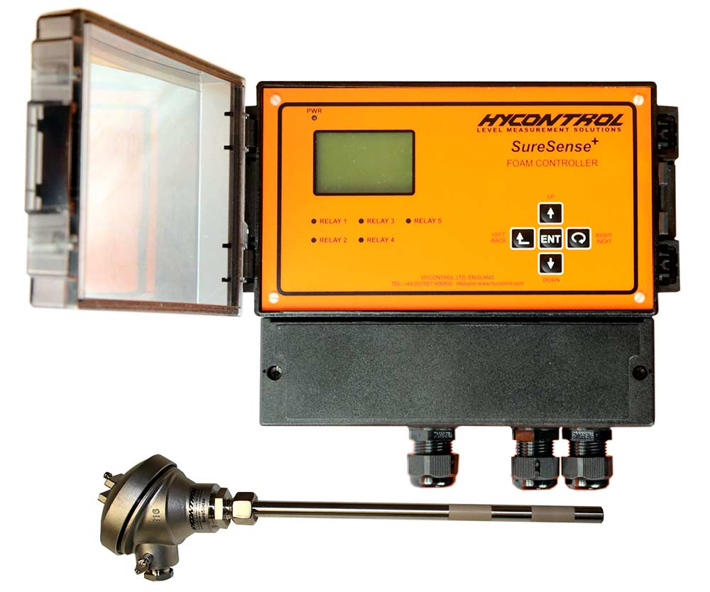 Hycontrol Suresense Foam Detection and Control System